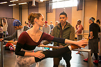 Dance Academy: The Movie (2017) <br /> Xenia Goodwin &amp; Keiynan Lonsdale<br /> *Filmstill - Editorial Use Only*<br /> CAP/RFS<br /> Image supplied by Capital Pictures