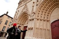 Cathedral of Saint John the Baptist, Lyon, France, 14 January 2012