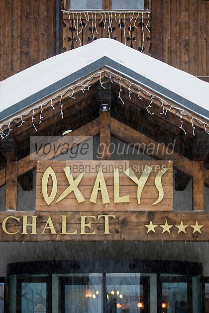 Europe/France/Rhone-Alpes/73/Savoie/ Val-Thorens: restaurant L'Oxalys,