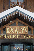Europe/France/Rhone-Alpes/73/Savoie/ Val-Thorens: restaurant L'Oxalys,