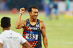 Keisuke Ushiro (JPN), <br /> AUGUST 25, 2018 - Athletics : <br /> Men's Decathlon High Jump <br /> at Gelora Bung Karno Main Stadium <br /> during the 2018 Jakarta Palembang Asian Games <br /> in Jakarta, Indonesia. <br /> (Photo by Naoki Morita/AFLO SPORT)