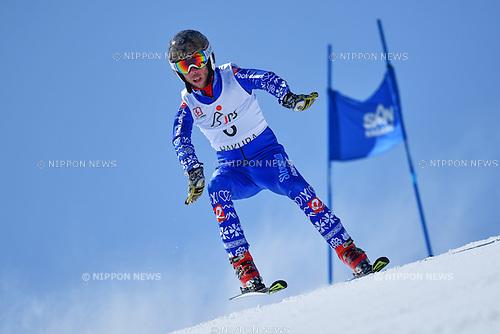 Martin France (SVK), <br /> MARCH 5, 2017 - Alpine Skiing :<br /> IPC Alpine World Cup Hakuba,<br /> Men's Giant Slalom <br /> Standing LW9-1 <br /> at Hakuba Happo One, Nagano Japan.<br /> (Photo by AFLO SPORT)