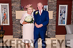 Agnes and Jack Kearney renewing their marriage vows and celebrating Agnes 70th birthday at the Dingle Bay Hotel on Sunday evening.
