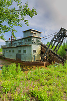 Coal Creek Dredge, along Coal Creek, Yukon River, Yukon Charley Rivers National Preserve, Alaska.