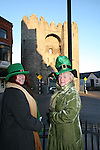 Bridie Maxwell and Isabelle San Roma of the St. Patricks Day Parade Committee promoting the Parade...Photo NEWSFILE/Jenny Matthews.(Photo credit should read Jenny Matthews/NEWSFILE)....This Picture has been sent you under the condtions enclosed by:.Newsfile Ltd..The Studio,.Millmount Abbey,.Drogheda,.Co Meath..Ireland..Tel: +353(0)41-9871240.Fax: +353(0)41-9871260.GSM: +353(0)86-2500958.email: pictures@newsfile.ie.www.newsfile.ie.FTP: 193.120.102.198.