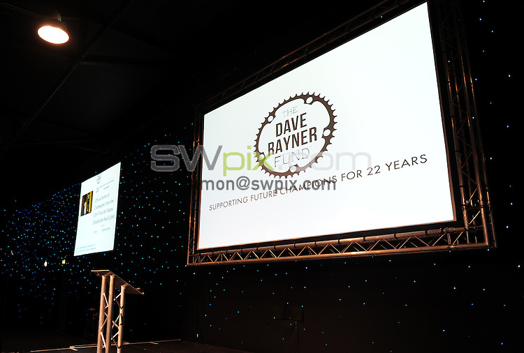 Picture by Simon Wilkinson/SWpix.com - 12/11/2016 - Cycling -The Dave Rayner Fund Dinner 2016 New Dock, Royal Armouries, Leeds -