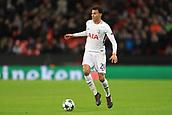 6th December 2017, Wembley Stadium, London England; UEFA Champions League football, Tottenham Hotspur versus Apoel Nicosia; Dele Alli of Tottenham Hotspur