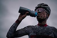 Tom Pidcock (GBR/TPR) post-race<br /> <br /> Superprestige cyclocross Hoogstraten 2019 (BEL)<br /> Elite Men's Race<br /> <br /> &copy;kramon
