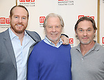 Darren Goldstein, Michael McKean and Richard Thomas attend the cast photo call for the Manhattan Theatre Club's New Broadway Production of 'The Little Foxes' at the MTC Rehearsal studios on February 27, 2017 in New York City.