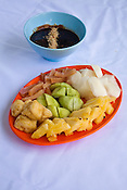 Penang's famous Rojak is posed for a photo in Georgetown of Penang, Malaysia. Photo: Sanjit Das/Panos