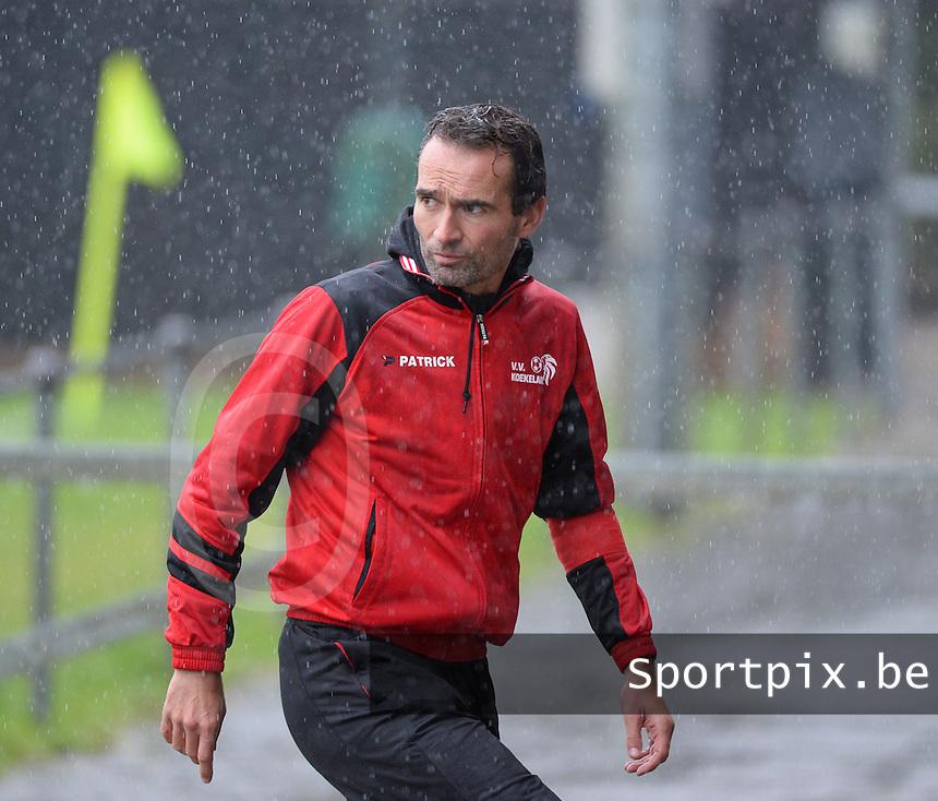 VV Koekelare : coach Stijn Rommelaere <br /> Foto VDB / Bart Vandenbroucke