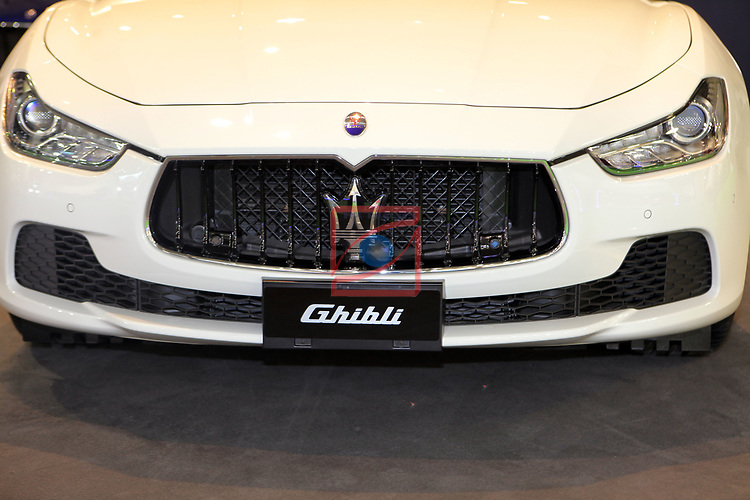 Automobile Barcelona 2017.<br /> Stand Maserati.