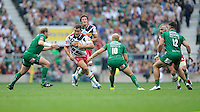 Nick Easter of Harlequins in action during the Premiership Rugby Round 1 match between London Irish and Harlequins at Twickenham Stadium on Saturday 6th September 2014 (Photo by Rob Munro)