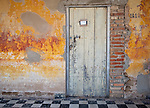 Cojimar Cuba:<br /> Wall detail