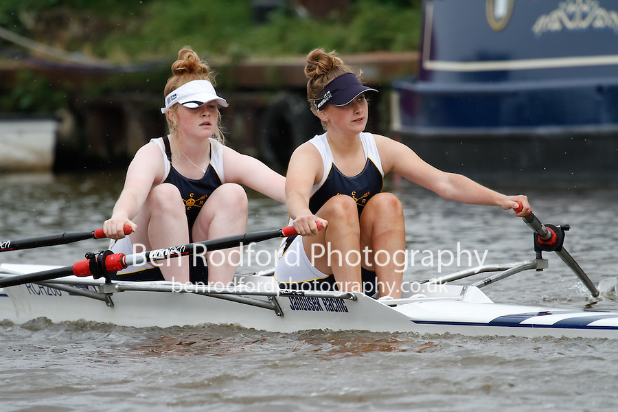 W.J16A.2x  Heat  (85) City of Bristol RC vs (86) Royal Chester (Cowdell)<br /> <br /> Saturday - Gloucester Regatta 2016<br /> <br /> To purchase this photo, or to see pricing information for Prints and Downloads, click the blue 'Add to Cart' button at the top-right of the page.