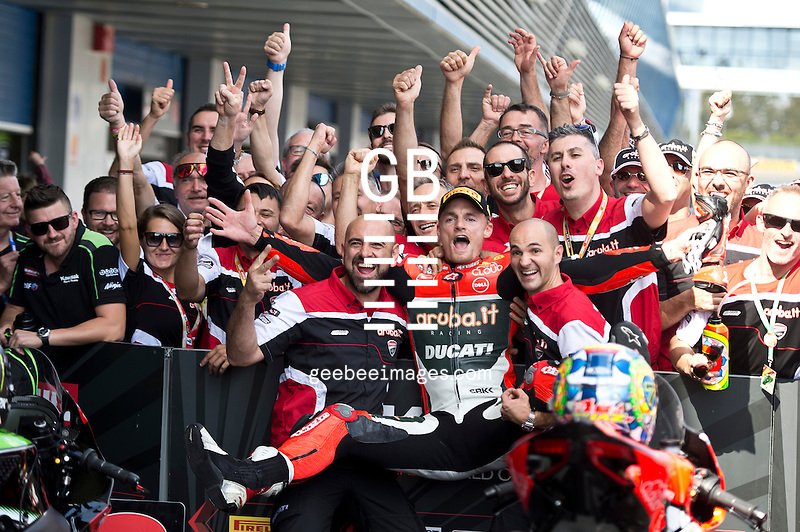2016 FIM Superbike World Championship, Round 12, Jerez, Spain, Chaz Davies, Ducati