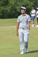 Kevin Na (USA) approaches the green on 18 during round 3 of the AT&amp;T Byron Nelson, Trinity Forest Golf Club, at Dallas, Texas, USA. 5/19/2018.<br /> Picture: Golffile | Ken Murray<br /> <br /> <br /> All photo usage must carry mandatory copyright credit (&copy; Golffile | Ken Murray)