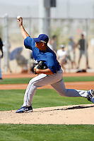 Jesus Rodriguez - Los Angeles Dodgers - 2009 spring training.Photo by:  Bill Mitchell/Four Seam Images