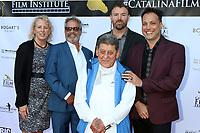 LOS ANGELES - SEP 27:  Alison Armstrong, Bill Banning, Lolo Saldana, Jack Piatt, Filmmaker at the 2019 Catalina Film Festival - Friday at the Catalina Bay on September 27, 2019 in Avalon, CA