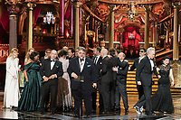 Guillermo del Toro, cast and crew accept the Oscar&reg; for Best motion picture of the year  for work on &ldquo;The Shape of Water&rdquo; during the live ABC Telecast of The 90th Oscars&reg; at the Dolby&reg; Theatre in Hollywood, CA on Sunday, March 4, 2018.<br /> *Editorial Use Only*<br /> CAP/PLF/AMPAS<br /> Supplied by Capital Pictures