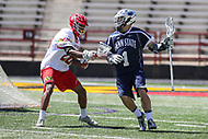 College Park, MD - April 8, 2017: Penn State Nittany Lions Grant Ament (1) in action during game between Penn State and Maryland at  Capital One Field at Maryland Stadium in College Park, MD.  (Photo by Elliott Brown/Media Images International)