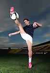 Fudbal, slikanje za Nike novu sportsku kolekciju.Zoran Tosic.Beograd, 21.11.2008..foto: Srdjan Stevanovic ©