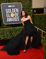 Kendall Jenner at the 75th Annual Golden Globe Awards at the Beverly Hilton Hotel, Beverly Hills, USA 07 Jan. 2018<br /> Picture: Paul Smith/Featureflash/SilverHub 0208 004 5359 sales@silverhubmedia.com