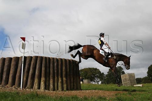 25.09.2010 Equestrian Aske Horse trials, North Yorkshire, UK. . Matthew Wright riding ODT Kings Jasper.