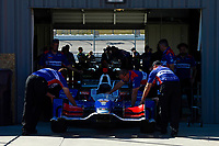 Verizon IndyCar Series<br /> Iowa Corn 300<br /> Iowa Speedway, Newton, IA USA<br /> Saturday 8 July 2017<br /> The car of Alexander Rossi, Andretti Herta Autosport with Curb-Agajanian Honda rolls out of tech.<br /> World Copyright: F. Peirce Williams