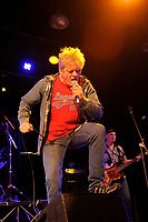 LONDON, ENGLAND - OCTOBER 8: Jilted John (Graham Fellows) performing at 229 on October 8, 2018 in London, England.<br /> CAP/MAR<br /> &copy;MAR/Capital Pictures