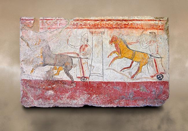 Paestrum, Andriuolo. Tomb 24.  (370-360 BC )