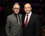 Alan Cumming and Danny Burstein attends the cocktail party for the Dramatists Guild Foundation 2018 dgf: gala at the Manhattan Center Ballroom on November 12, 2018 in New York City.