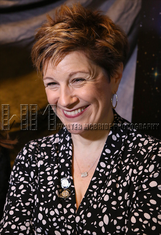 Lisa Kron attends the 2015 Tony Awards Meet The Nominees Press Junket at the Paramount Hotel on April 29, 2015 in New York City.