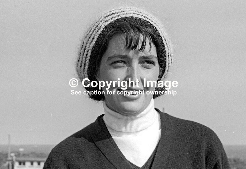 Claire Spencer, Portadown, N Ireland, woman golfer, amateur, May 1968, 196805000132a<br />