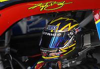 Apr 20, 2007; Avondale, AZ, USA; Nascar Nextel Cup Series driver Kyle Busch (5) during practice for the Subway Fresh Fit 500 at Phoenix International Raceway. Mandatory Credit: Mark J. Rebilas