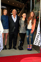 LOS ANGELES - FEB 14: Kate Bosworth, Sir Philip Green, Demi Lovato, Chloe Green at the Topshop Topman LA Grand Opening at The Grove on February 14, 2013 in Los Angeles, California