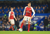 10th January 2018, Stamford Bridge, London, England; Carabao Cup football, semi final, 1st leg, Chelsea versus Arsenal; Alexis Sanchez of Arsenal