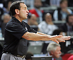 Mike KRZYZEWSKI (USA) head coach, reacts during the Final World championship basketball match against Turkey in Istanbul, Turkey-USA, Turkey on Sunday, Sep. 12, 2010. (Novak Djurovic/Starsportphoto.com) .