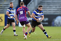 Will Vaughan of Bath United in possession. Remembrance Rugby match, between Bath United and the UK Armed Forces on May 10, 2017 at the Recreation Ground in Bath, England. Photo by: Patrick Khachfe / Onside Images