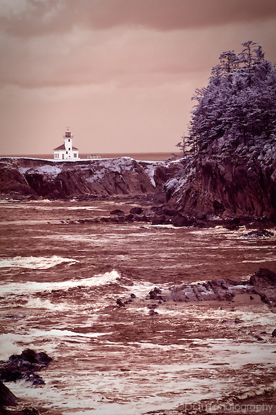 Cape Arago Lighthouse in Oregon