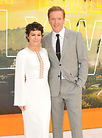 """LONDON, ENGLAND - JULY 30: Helen McCrory and Damian Lewis at the """"Once Upon A Time In ... Hollywood"""" UK film premiere, Odeon Luxe Leicester Square, Leicester Square, on Tuesday 30 July 2019 in London, England, UK.<br /> CAP/CAN<br /> ©CAN/Capital Pictures"""