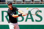 May 25th Roland Garros, paris, France; French Open tennis championships; Ivan Lendl practises with Andy Murray;  Andy Murray (GBR)