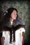 Native American Lakota Sioux Indian woman