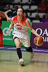 Aya Watababe (JPN), <br /> AUGUST 17, 2018 - Basketball : Women's Qualification round match between Japan 73-105 China at Gelora Bung Karno Basket Hall A during the 2018 Jakarta Palembang Asian Games in Jakarta, Indonesia. (Photo by MATSUO.K/AFLO SPORT)