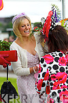 Kate Ferguson winner in the best dressed lady competition pictured at Listowel races on Sunday.