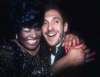 Jennifer Holliday and Michael Bennett 1981<br /> Photo By Adam Scull/PHOTOlink.net/MediaPunch