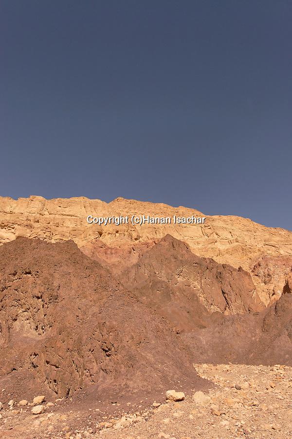 Israel, Wadi Amram in Eilat Mountains