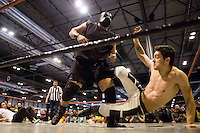 Show of the Triple W (White Wolf Wrestling) at Expocomic 2016 in Madrid, Spain. December 03, 2016. (ALTERPHOTOS/BorjaB.Hojas) /NORTEPHOTO.COM