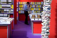 12/05/2007 Torino: XX fiera internazionale del libro..Turin: International Book Fair