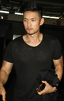 NEW YORK, NY-August 24:  Harry Shum Jr. at AOL BUILD to talk about a romantic comedy show Single By 30 in New York. August 24, 2016. Credit:RW/MediaPunch
